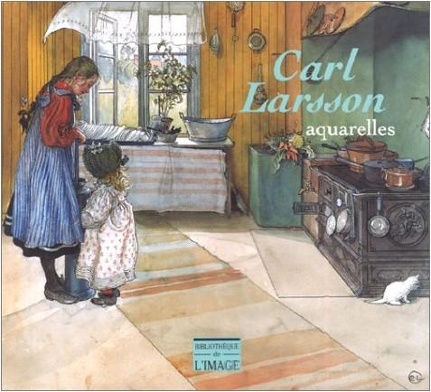 Bo Lindwall - Carl Larsson : aquarelles