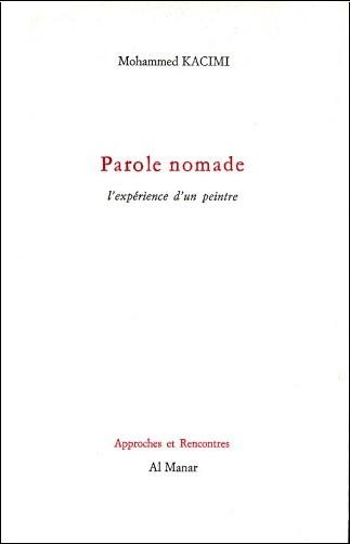 Mohammed Kacimi - Parole nomade