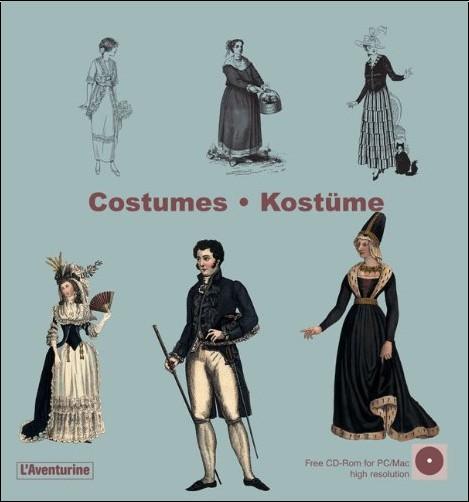 Clara Schmidt - Costumes (1Cédérom)