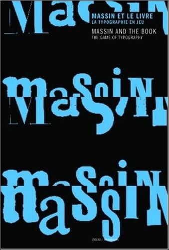 Roxane Jubert - Massin et le livre : La typographie en jeu, édition bilingue français-anglais