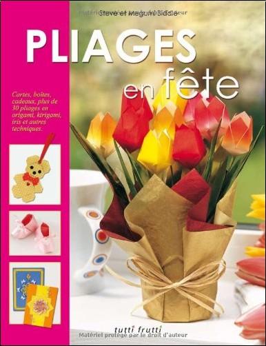 Steve Biddle - Pliages en fête : Cartes, boîtes, cadeaux, plus de 30 pliages en origami, kirigami, iris et autres techniques