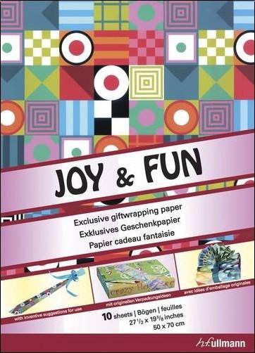 Collectif - Papier cadeau : Joy & Fun