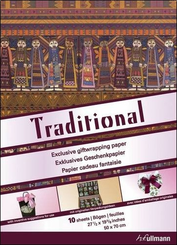 Collectif - Papier cadeau : Traditional