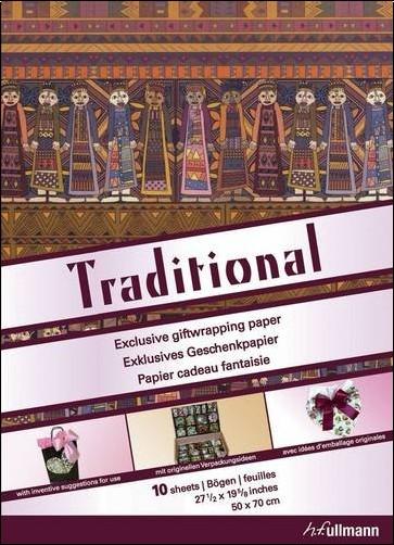 Collectif - Papier cadeau : Traditional