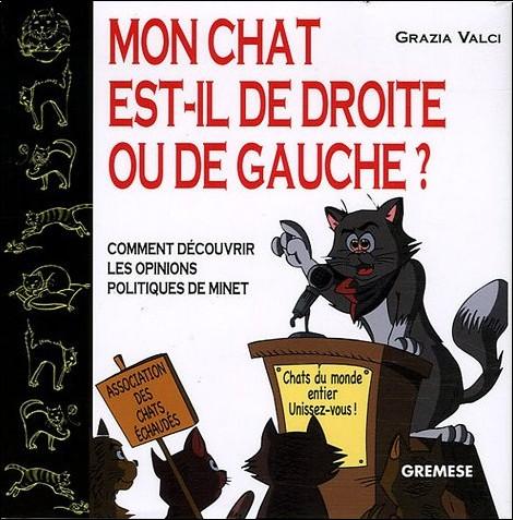 Grazia Valci - Mon chat est-il de droite ou de gauche ? : Comment découvrir les opinions politiques de Minet
