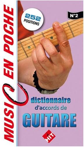 Hit - Mini Dico Accords de Guitare