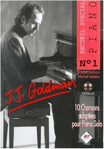 Hit - Jj Goldman Piano N.1+CD