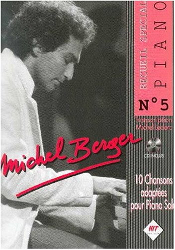 Hit - Michel Berger Piano N.5+CD