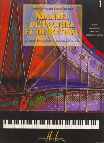 J.C. Sangouard - Manuel de lecture et de rythme Volume 1