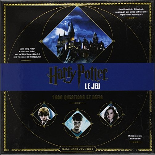 Collectif - Harry Potter : Le jeu: 1 000 questions et défis