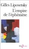 L'Empire de l'éphémère - Lipovetsky