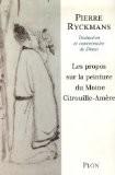 Les propos sur la peinture du moine Citrouille-Amère - Pierre Ryckmans