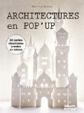 Architecture en pop-up - Maurice MATHON