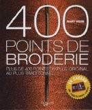 400 points de broderie - Mary Webb