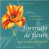 Portraits de fleurs : Dessins et aquarelles - Vincent Jeannerot