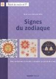 Signes du zodiaque - Des centaines de motifs à broder au point de croix - Marie-Anne Réthoret-Mélin