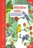 Window color : Peinture vitrail repositionnable - Burda