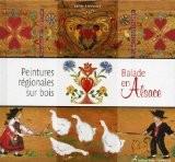 Peintures régionales sur bois : Balades en Alsace - Jackie Bienvenu