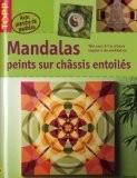 Mandalas peints sur châssis entoilés - Gecko Keck