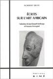 Ecrits sur l'art africain - Norbert Elias