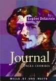 Anthologie du Journal - Eugène Delacroix
