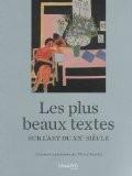 Les plus beaux textes sur l'art du XXe siècle - Pierre Sterckx