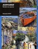 Acrylique Peindre les saisons - Christophe Duflot