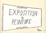 Exposition de peinture - Alessandro Sanna