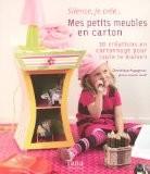 Mes petits meubles en carton : Créations en cartonnage pour toute la maison - Dominique Augagneur