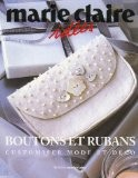 Boutons et rubans : Customiser mode et déco - Dominique Roche