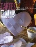 Carte et menus : 40 idées : invitations, voeux, anniversaires... - Caroline Lancrenon
