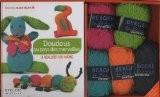 Doudous au pays des merveilles � r�aliser soi-m�me : Avec 5 pelotes de laine - Charlotte Rion
