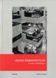 Leçons d'architecture - Herman Hertzberger