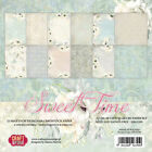 12 Papiers scrapbooking 30,48x30,48 cm Sweet Time CPS-ST30 Craft&You