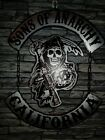 décoration harley davidson sons of anarchy suspension déco murale