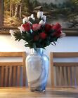 Vincenza Marble Cased Glass Vase With Irredescent Finish 28cm Lesser & Pavey BN