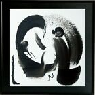 crying tableau abstrait pop street art calligraphie painting french CLALY