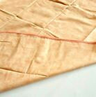 nappe tissus enduit rectangle 1.50 x 1.10 fin de stock orange clair marbré biais