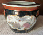 vase CACHE POT ANCIEN en PORCELAINE D IMARI,? JAPON au RICHE DECOR PEINT