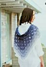 Easy Crochet Pattern Rico Shawl Wrap Beach Wrap Cover Up Lap Blanket