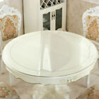 1.5mm PVC Transparent Round Table Protection Cover Clear Waterproof Tablecloth