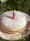 CROCHET PATTERN ICED VICTORIA SANDWICH WITH CANDLE BEADED EASY KTM AMA