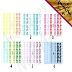 �� sticker ongle patch water decal Frise dentelle ornement manucure deco m006 ��
