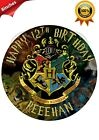 HARRY POTTER THEMED PERSONALISED BIRTHDAY EDIBLE CAKE CUPCAKE TOPPER