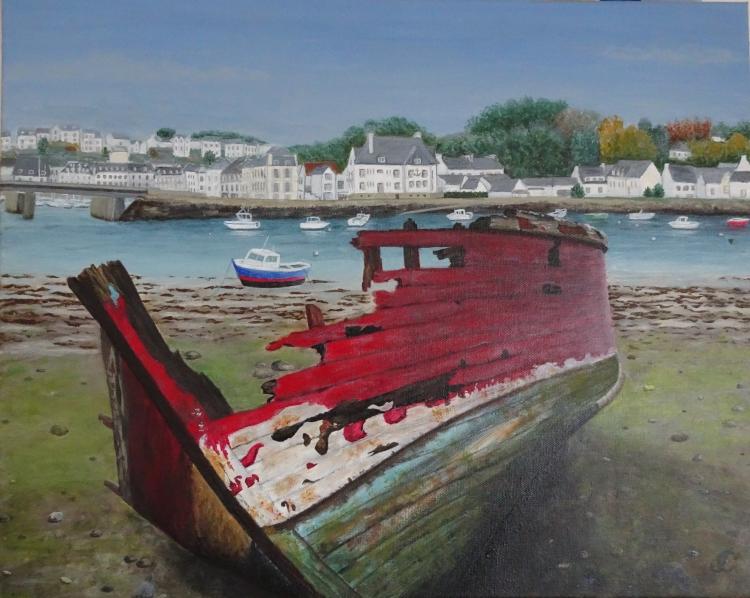 Epave bateau Audierne