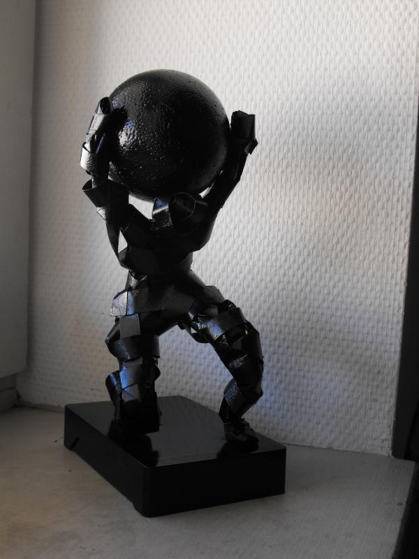 SCULPTURE figurine atlas - ATLAS