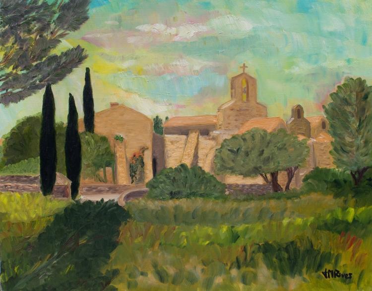 Chapelle provencale de Pépiole (Var)