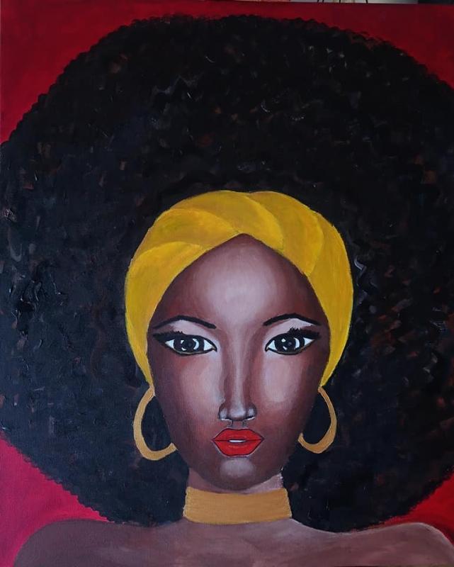 femme afro