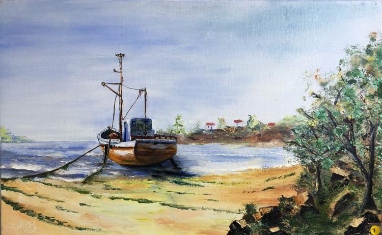 Le bateau abandonné