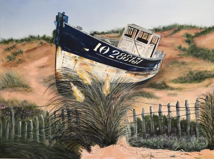 Echoué sur la dune